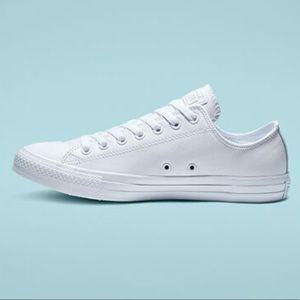 Converse Shoes - Converse Chuck Taylor All White Leather Shoes